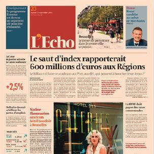 《L'ECHO》报