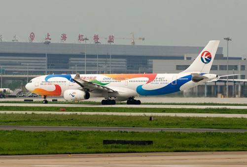 上海虹桥机场T2航站楼广告