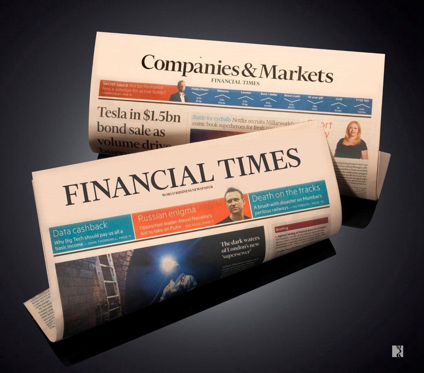 英国《金融时报》