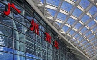 广州南站三层候车厅包柱广告
