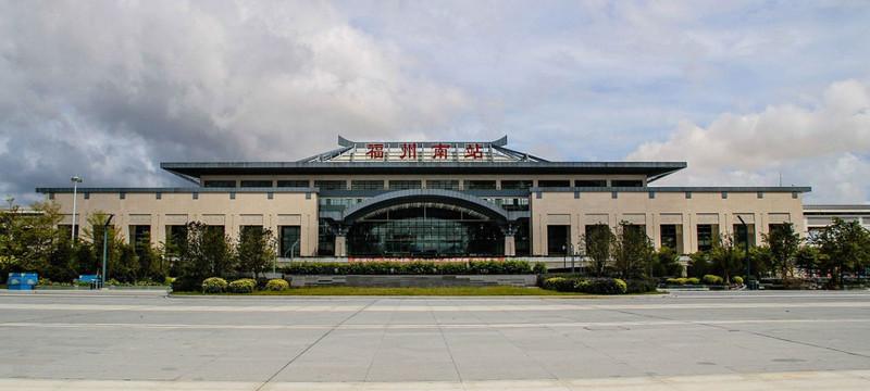福州南高铁站LED屏广告