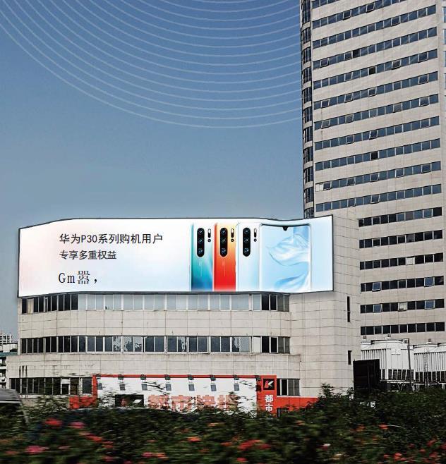 杭州西湖文化广场灯箱广告