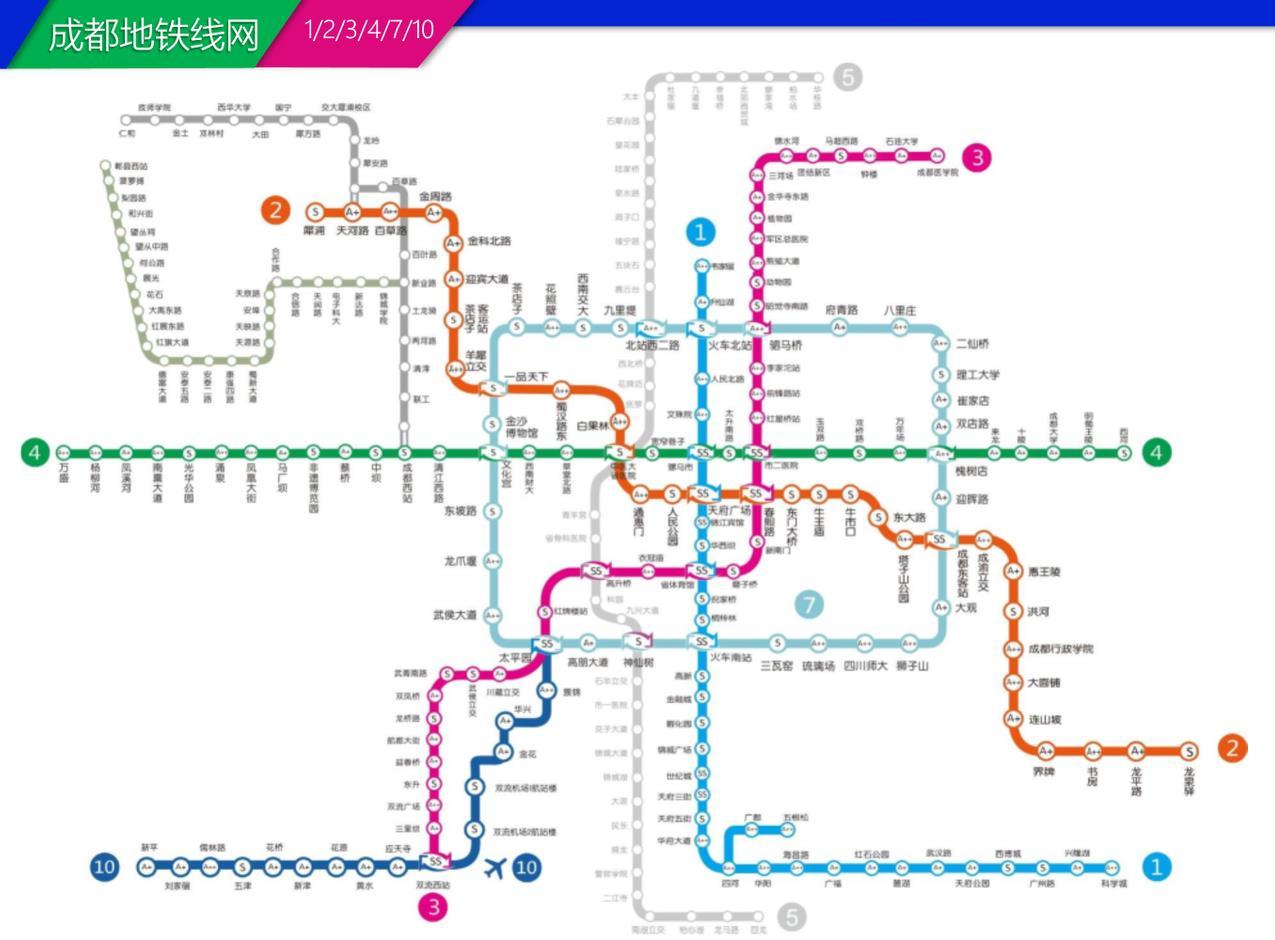 成都地铁站灯箱广告
