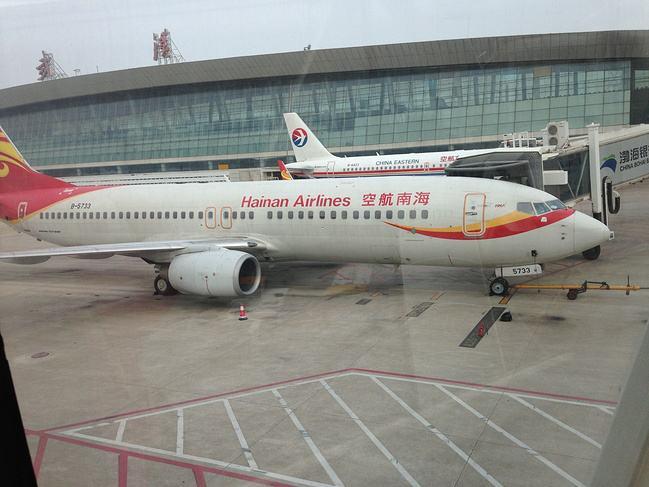 武汉天河国际机场灯箱广告