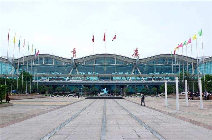 重庆江北国际机场灯箱广告