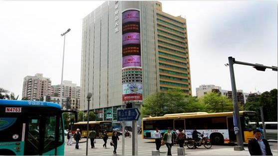深圳南山新绿岛大厦LED屏广告